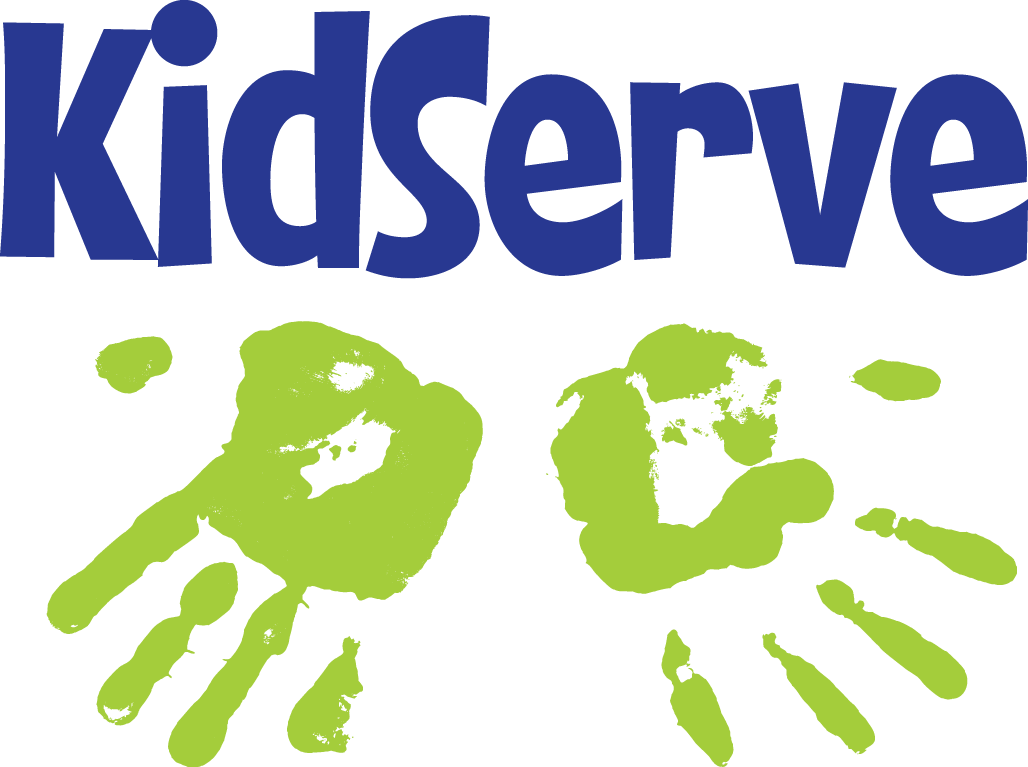 KidServe Logo-gr/blue