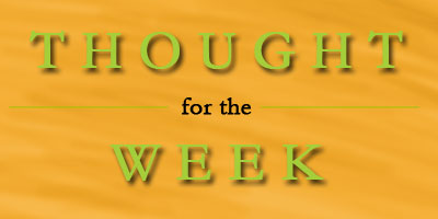 ThoughtOfTheWeekSlide - thought of the week slide